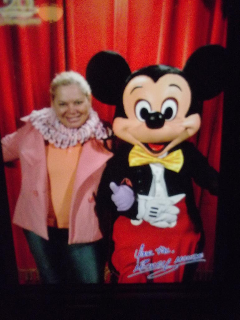 EU E O MICKEY - Paris