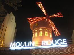 The Noulin Rouge - no introduction needed. , Tania P - October 2012