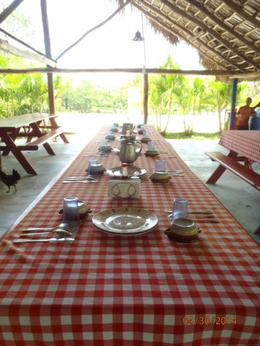 Photo of Punta Cana Punta Cana River Horseback Riding and Zipline Tour Lunch Table