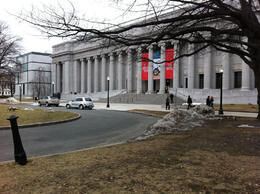 Photo of   Museum of Fine Arts, Boston - Fenway Entrance