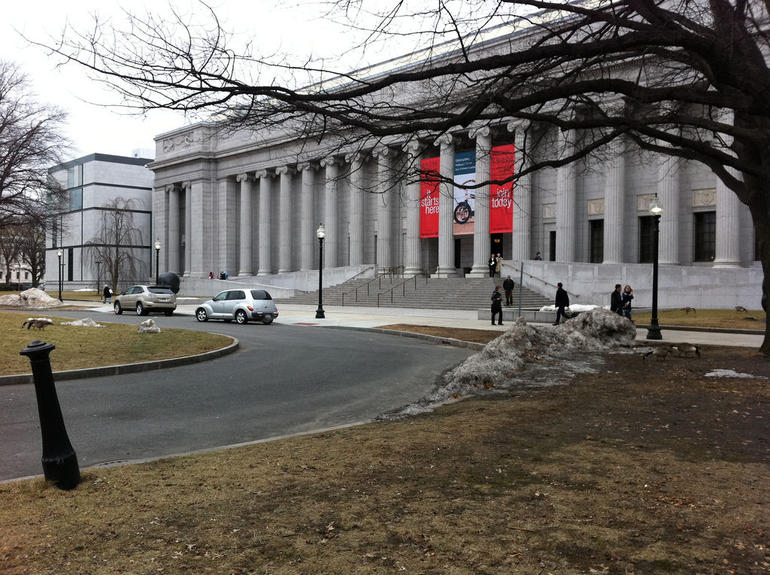Museum of Fine Arts, Boston - Fenway Entrance - Boston