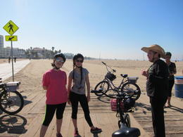 Photo of Los Angeles Electric Bicycle Tour of Santa Monica and Venice Beach Santa Monica Pier