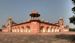 Photo of New Delhi Private Tour: Agra, Taj Mahal and Fatehpur Sikri Day Trip from Delhi Segunda Palace at Fatehpur Sikri