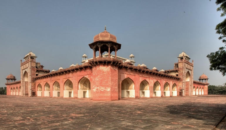Segunda Palace at Fatehpur Sikri - New Delhi