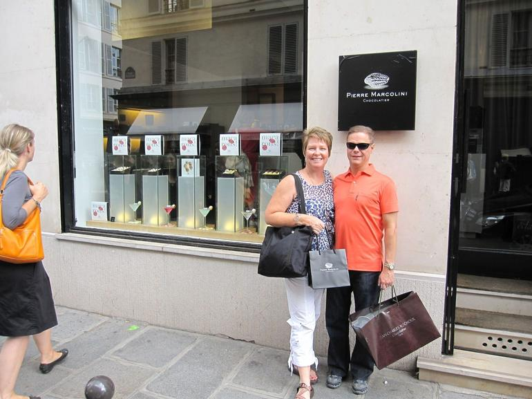 Shopping for chocolate - Paris