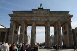 The Brandenburg Gate, Berlin - December 2011