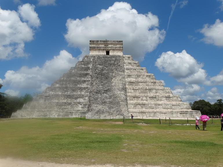 The pyramid - Cancun
