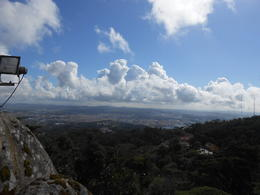 Photo of Lisbon Sintra and Cascais Small-Group Day Trip from Lisbon The view from the Castle in Sintra
