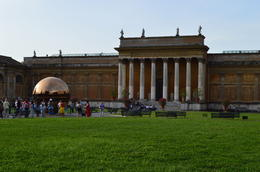 First part of the Vatican tour...the grounds of the Vatican palace. , Donna S - August 2014