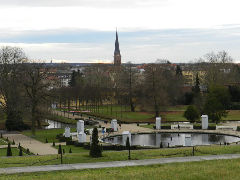 View from one of the palaces at Sanssouci gardens - Berlin