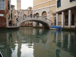 Photo of Venice Venice Gondola Ride and Serenade Walking bridge that can lead to shoping and ports.