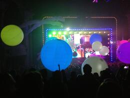 Photo of Las Vegas Blue Man Group at Monte Carlo Resort and Casino Balls