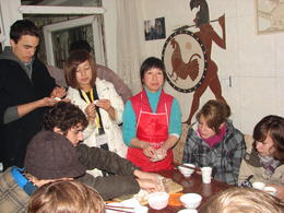Photo of Beijing Private Cultural Tour: Hutong Rickshaw Ride, Tea Ceremony and Dumpling Making in Beijing DSC02802