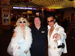 Elvis on Las Vegas Strip - May 2011