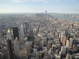 Photo of New York City The Lion King On Broadway Empire State Building View