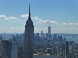 Photo of New York City Top of the Rock Observation Deck, New York Empire state
