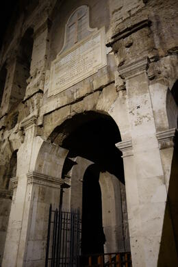 Photo of Rome Viator VIP: Exclusive Rome Rooftop Dinner and Colosseum Night Tour Including Underground Chambers Entering the Underground Chambers