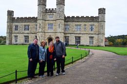 Jan, Richard, Kory and Lauren at Leed's Castle. , Richard K - October 2015
