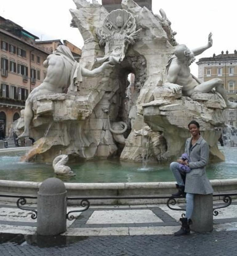 Fountain of the Four Rivers - Rome