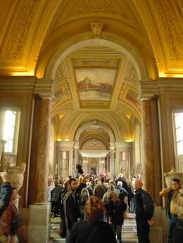 Photo of Rome Skip the Line: Vatican Museums Walking Tour including Sistine Chapel, Raphael's Rooms and St Peter's Gallery of the Candelabra