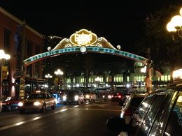 Gaslamp at night , LAURALEE S - June 2015