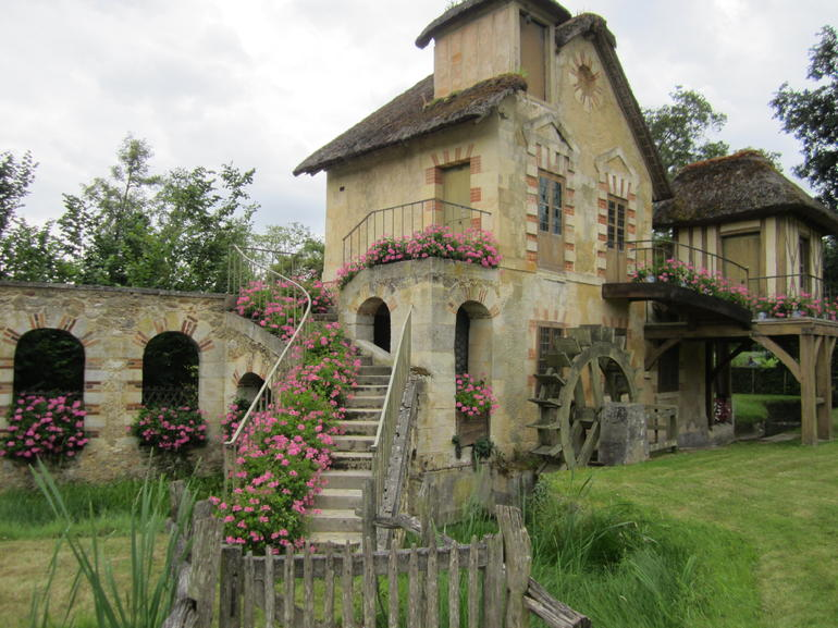 Mill at Marie Antoinette's hamlet
