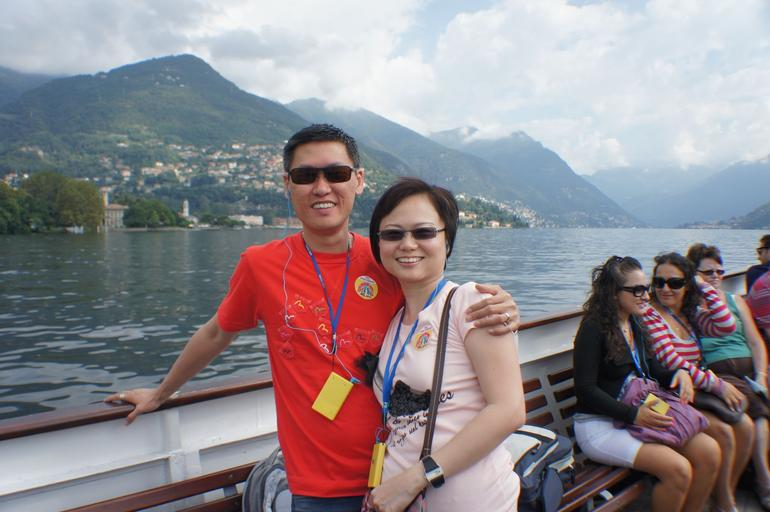 Lake Como: It's Me and my Wife!! - Milan