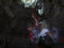 Photo of Cancun 4-in-1 Tulum Adventure: Zipline, Cavern Rappel, Cave Snorkel and Skycycle Julio - Rappel Master
