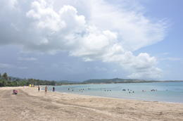 Photo of San Juan El Yunque Rainforest and Luquillo Beach from San Juan Luquillo