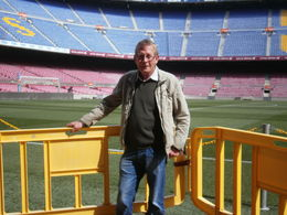 Photo of Barcelona FC Barcelona Football Stadium Tour and Museum Tickets me at camp nou on my sons 21st