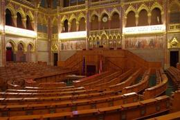 This is the room where the members of Parliament hold their meetings and discussions. The wood work is so beautiful and this is really a huge hall that can accommodate a lot of members., Elmarie Magda D - August 2010