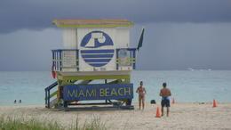 Enjoying the sand at Miami. , raymond.field - October 2012