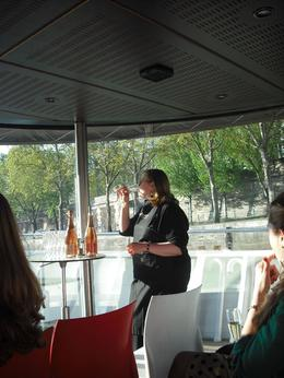 Photo of Paris Champagne Tasting on a Seine River Cruise our sommelier