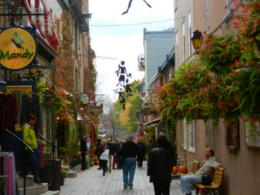 Photo of Montreal Quebec City and Montmorency Falls Day Trip from Montreal Pettit Champlain