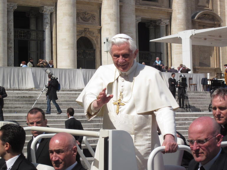 Papal Audience with Pope Benedict XXVI - Rome