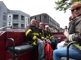Photo of San Francisco San Francisco Fire Engine Tour Ready for the off