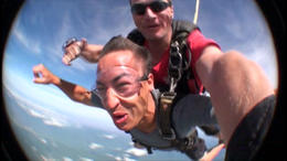 Sky dive in Cairns! - February 2012