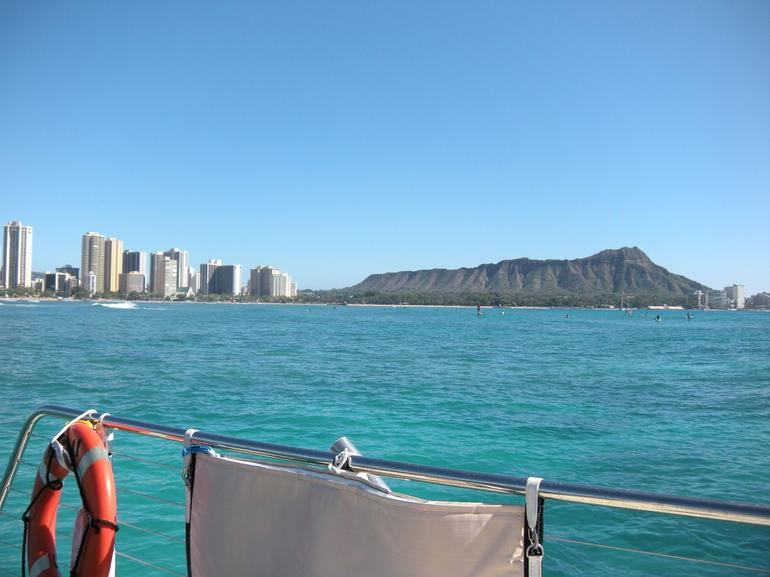 Sailing on the Catamaran - Oahu