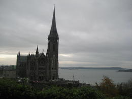 Photo of Dublin Cork and Blarney Castle Rail Trip from Dublin St. Colman's Cathedral in Cobh
