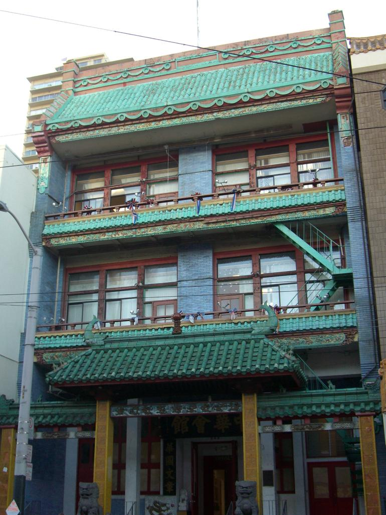 The Chinese Consolidated Benevolent Association, Chinatown, SF - San Francisco