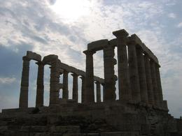 The temple of Poseidon at Cape Sounion, Travis S - September 2009