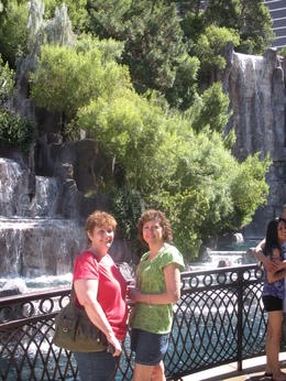 Photo of Las Vegas Ultimate Las Vegas City Tour Waterfalls