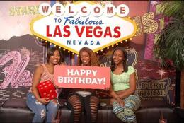 Photo of Las Vegas Madame Tussauds Las Vegas bday photo