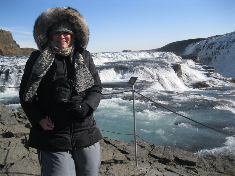 Enjoying the beauty at Gullfoss! - Reykjavik