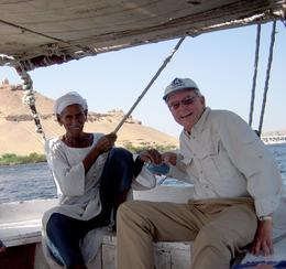This ride was included in the cruise itinerary. We took this classic Nile sailboat to a beautiful botanical garden on an island in the Nile. The boat captain (and only crewman) was an old hand on the ...  - October 2008