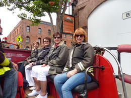 Photo of San Francisco San Francisco Fire Engine Tour Girls i think you'd better wrap up