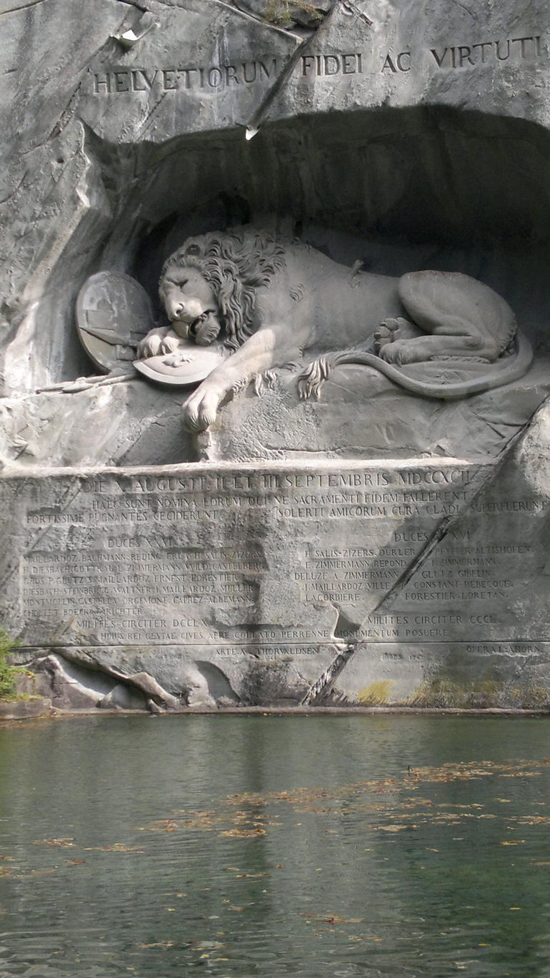 Lion mountin - Zurich