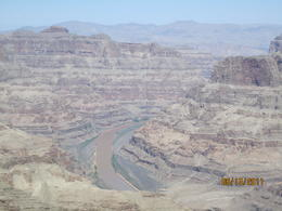 Photo of Las Vegas Deluxe Grand Canyon West Rim Airplane Tour with Optional Helicopter Tour Looking at the Colorado River