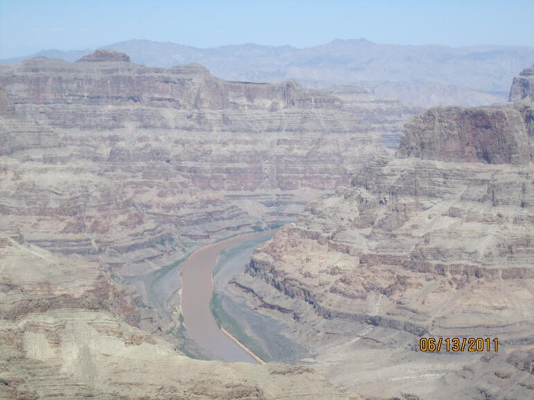 Looking at the Colorado River - Las Vegas