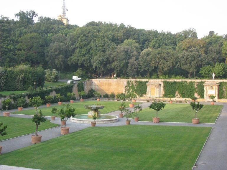 Part of the Pope's Gardens - Rome